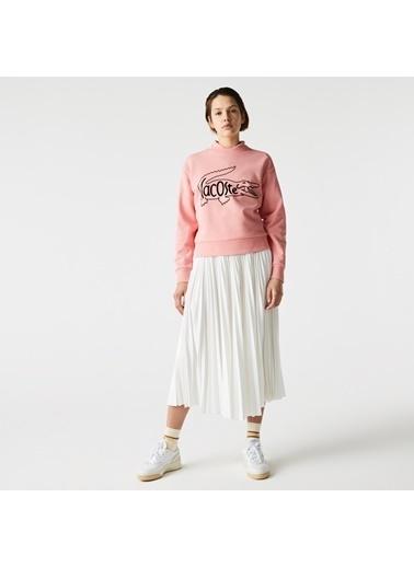 Lacoste Sweatshirt Pembe